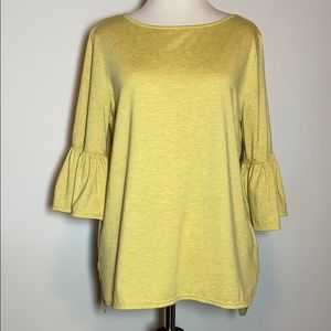 Max Studio 3/4 Bell Sleeve Top, Size S, Like New
